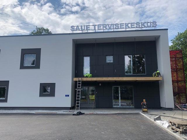 Saue Tervisemaja ehitusjärgne koristus (mai 2019)