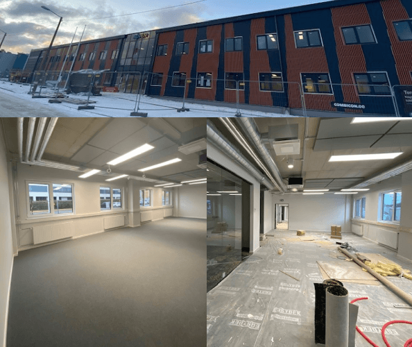 Adven Eesti AS kontori ehitusjärgne koristus, detsember 2019)
