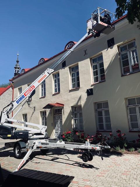 Vanalinna aknapesu juuli 2020