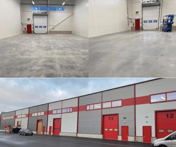 Betooni 14 laohoone ehitusjärgne koristus (NOBE, detsember 2019)