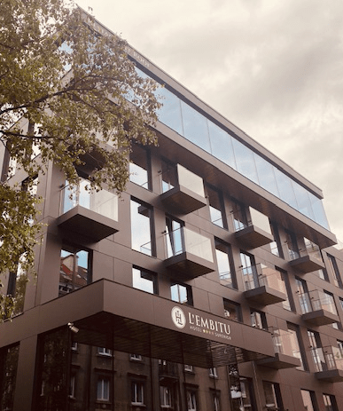 Hotell L'embitu ehitusjärgne koristus koostöös Trust Ehitus OÜ (Juuni 2020)
