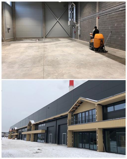Liimi 2 ehitusjärgne koristus (Nordecon Betoon)
