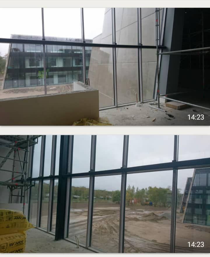 Sisekaitseakadeemia ehitusjärgne koristus ja aknapesu (Nordecon AS)