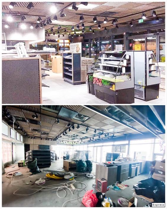 Rakvere Olerexi ehitusjärgne koristus (jaanuar 2021)