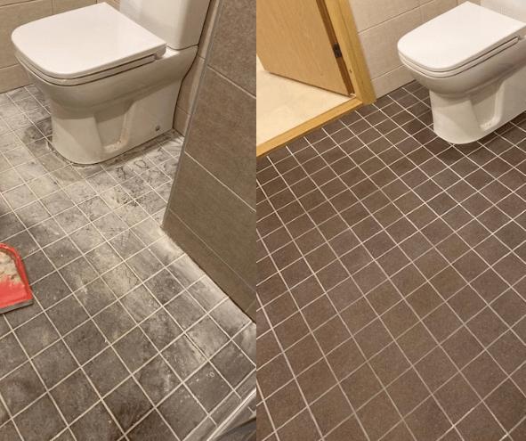 Sanitaarruumi ehitusjärgne puhastus (detsember 2019)