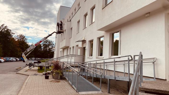 Keila Sotsiaalkeskuse aknapesu (september 2021)
