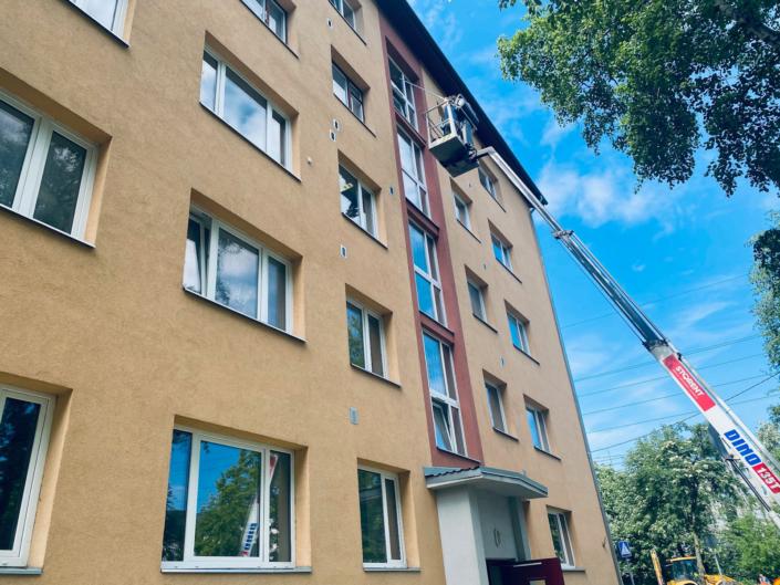 Põhja Tallinn trepikoja aknapesu (september 2021)